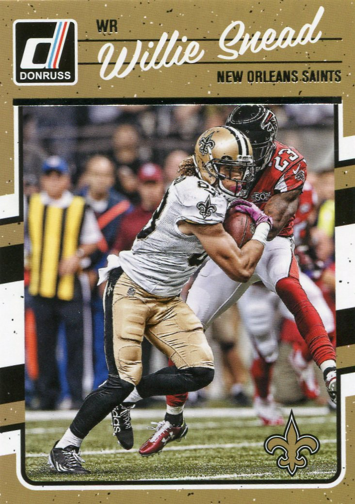2016 Donruss Football Card #192 Willie Sneed
