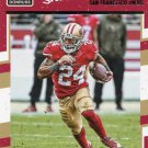 2016 Donruss Football Card #258 Shawn Draughn