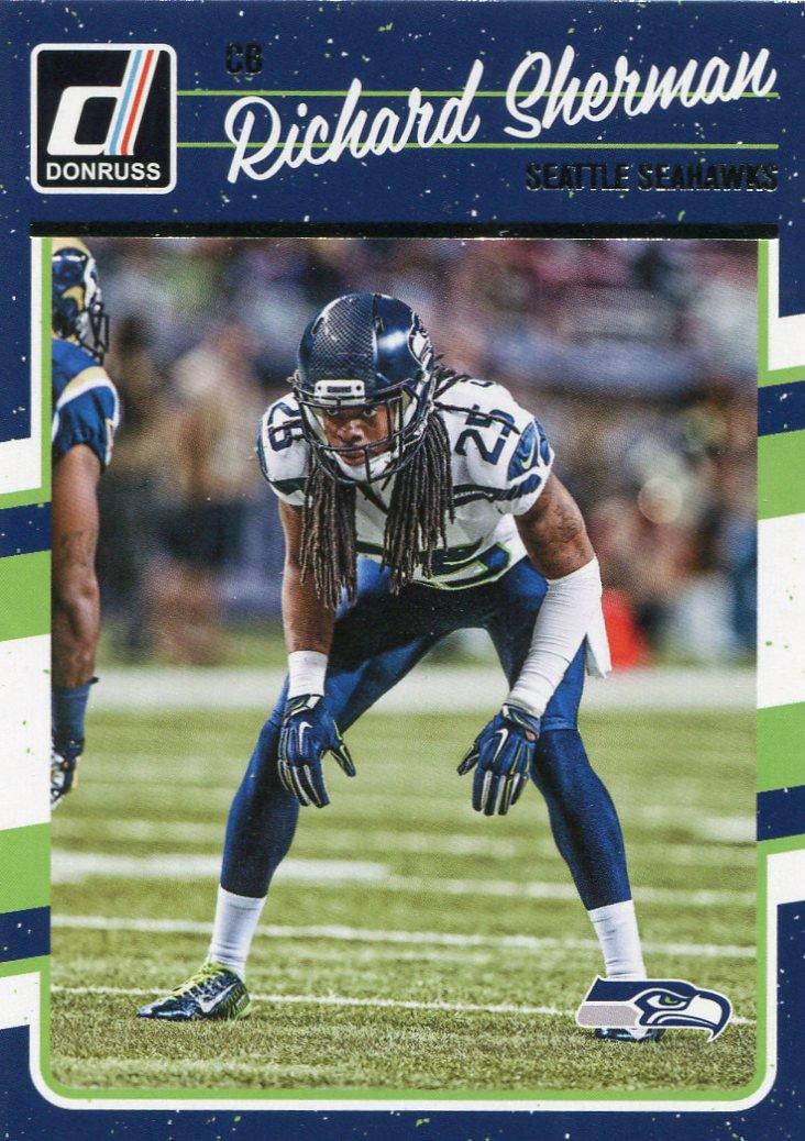 2016 Donruss Football Card #270 Richard Sherman