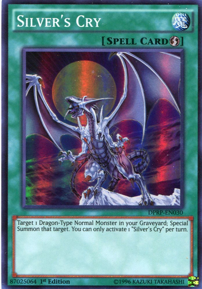 Yugioh Duelist Pack Rivals of the Pharaoh Silver's Cry DPRP-EN030