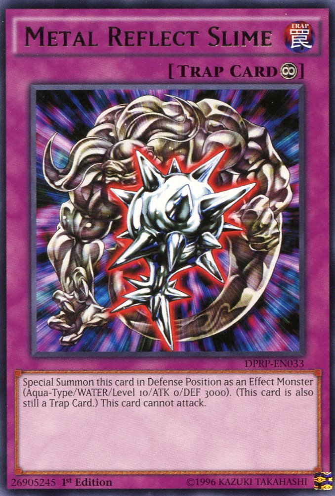 Yugioh Duelist Pack Rivals of the Pharaoh Metal Reflects Slime DPRP-EN033