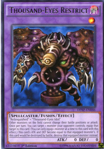 Yugioh Duelist Pack Rivals of the Pharaoh Destiny Board DPRP-EN041