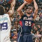 2015 Hoops Basketball Card #40 Thabo Sefalosha