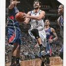 2015 Hoops Basketball Card #68 Ricky Rubio