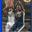2013 Hoops Basketball Card Blue Parallel #165 Alec Burks