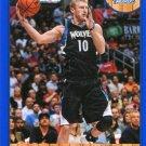 2013 Hoops Basketball Card Blue Parallel #216 Chase Budinger