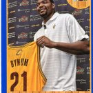 2013 Hoops Basketball Card Blue Parallel #252 Andrew Bynum