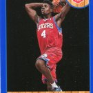 2013 Hoops Basketball Card Blue Parallel #266 Nerlens Noel