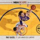 2013 Hoops Basketball Card Board Members #13 Pau Gasol