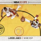 2013 Hoops Basketball Card Board Members #20 LeBron James