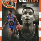 2013 Hoops Basketball Card Hall of Fame Heros #1 Isaiah Thomas