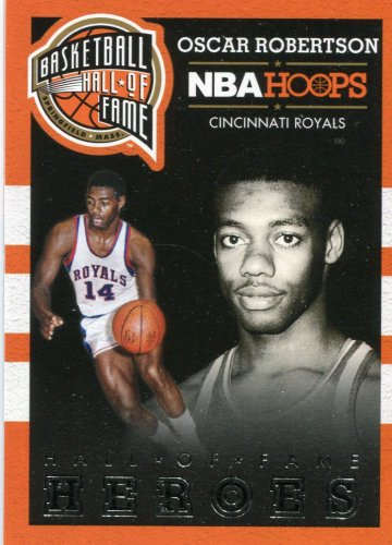 2013 Hoops Basketball Card Hall of Fame Heros #14 Oscar Robinson
