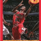 2013 Hoops Basketball Card Red Parallel #71 Jimmy Butler