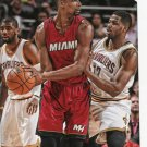 2015 Hoops Basketball Card #147 Chris Bosh