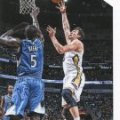 2015 Hoops Basketball Card #156 Omir Asik
