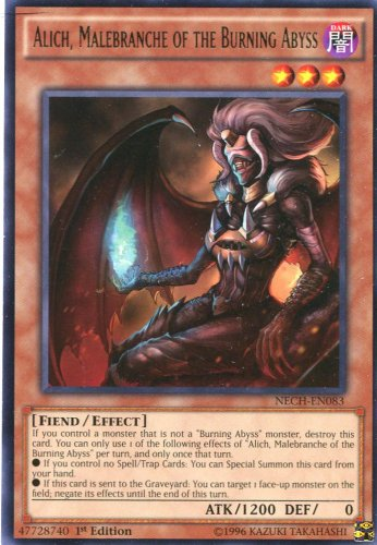 Yugioh Duelist New Challengers, Alich, Malebranche of the Burning Abyss NECH-EN083