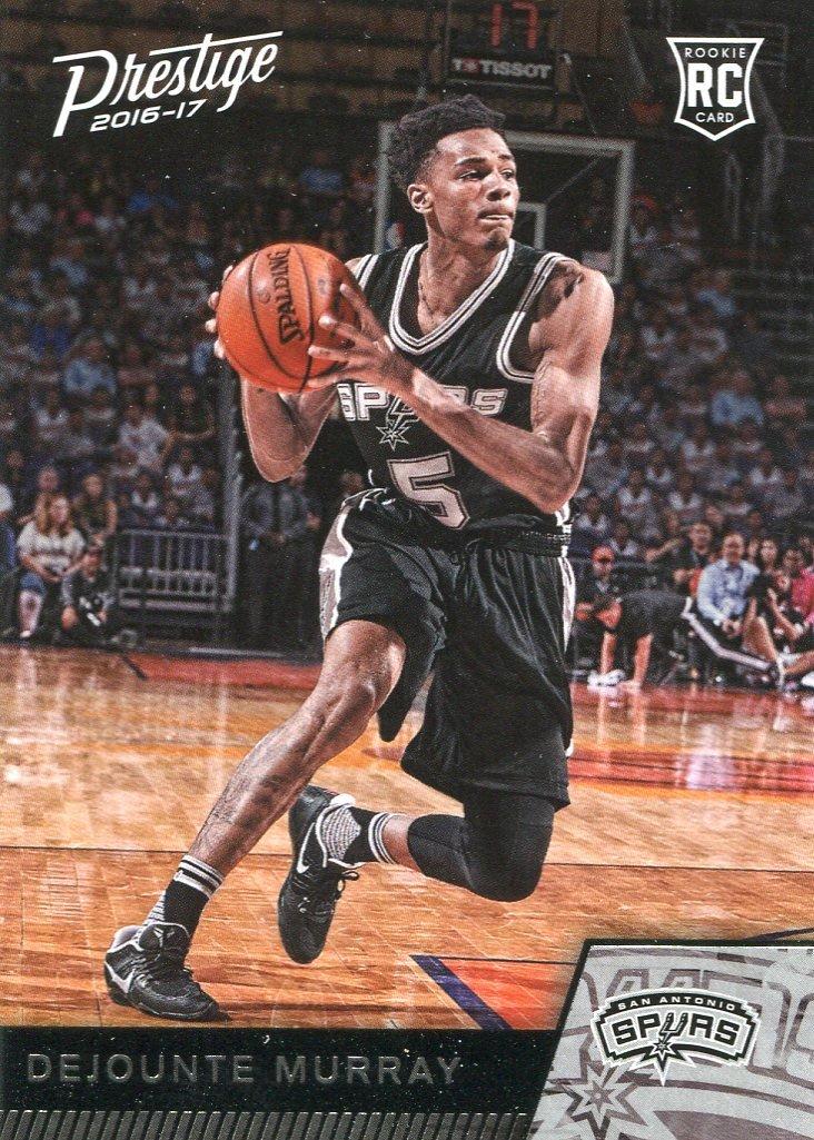 2016 Prestige Basketball Card #176 DeJounte Murray