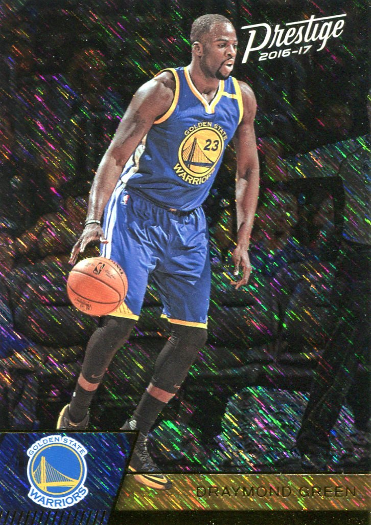 2016 Prestige Basketball Card Laser #133 Draymond Green
