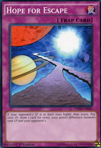 Yugioh Pendulum Domination Hope for Escape, SDPD-EN040