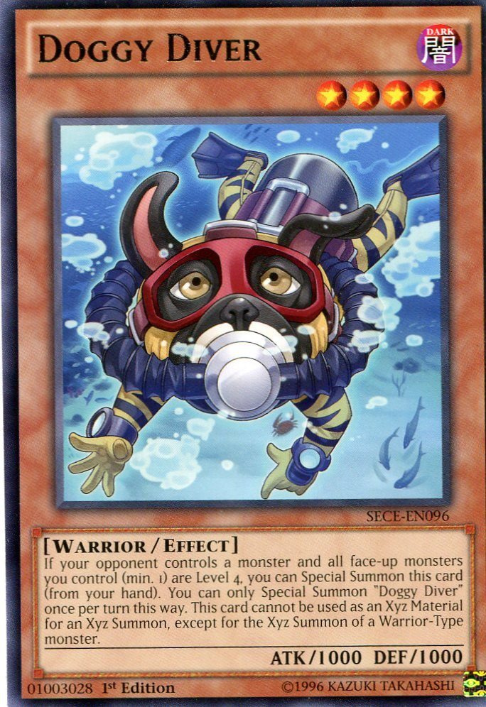 Yugioh Secrets of Eternity Doggy Diver, SECE-EN096