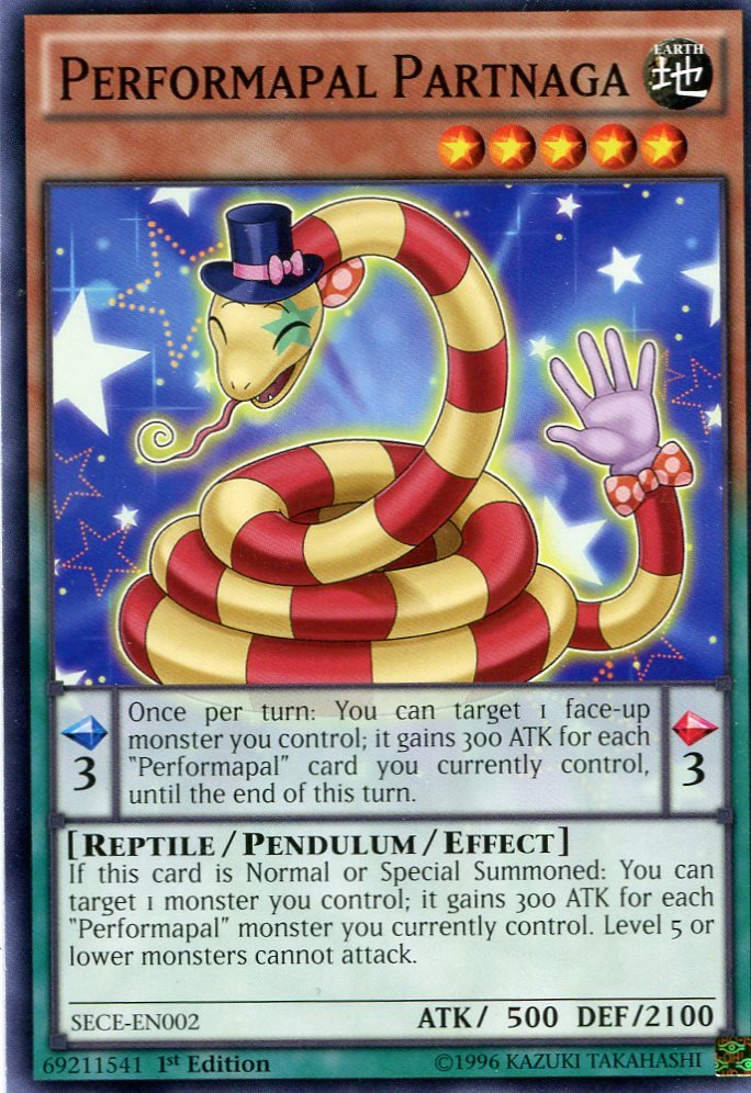 Yugioh - Secrets of Eternity - Performapal Partnaga - SECE-EN002