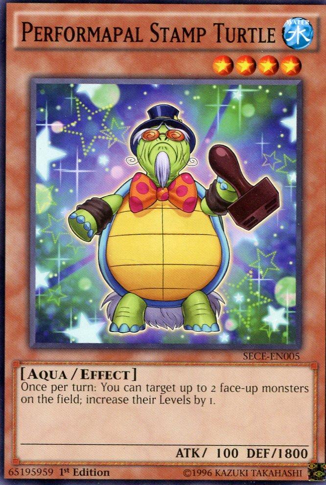 Yugioh - Secrets of Eternity - Performapal Stamp Turtle - SECE-EN005