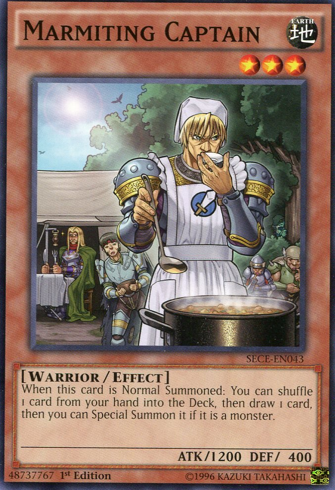 Yugioh - Secrets of Eternity - Marmitting Captain - SECE-EN043