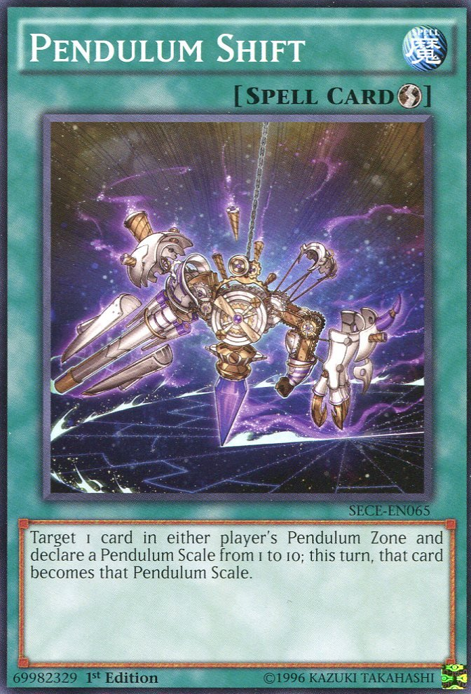 Yugioh - Secrets of Eternity - Pendulum Shift - SECE-EN065