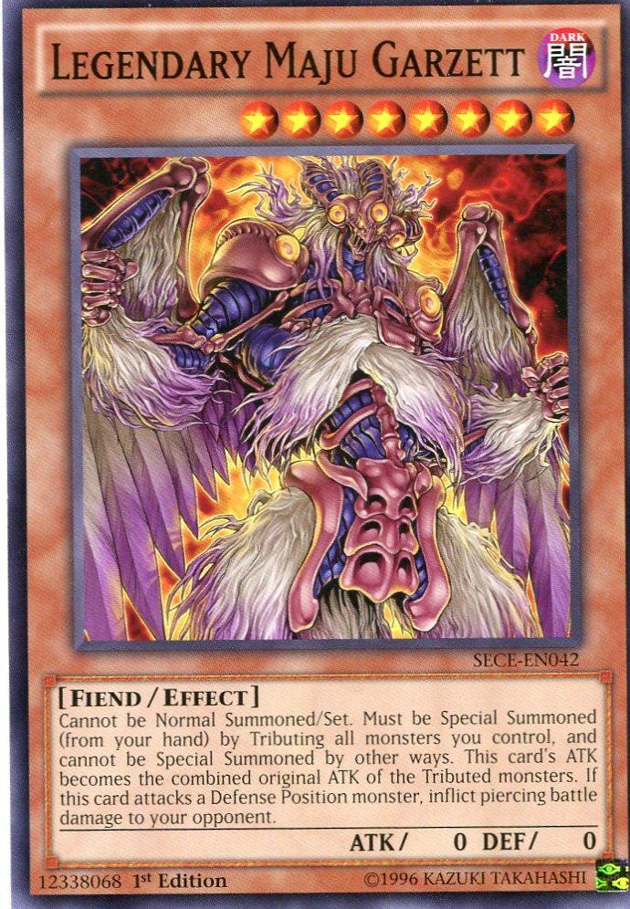 Yugioh - Secrets of Eternity - Legendary Maju Garzett - SECE-EN042