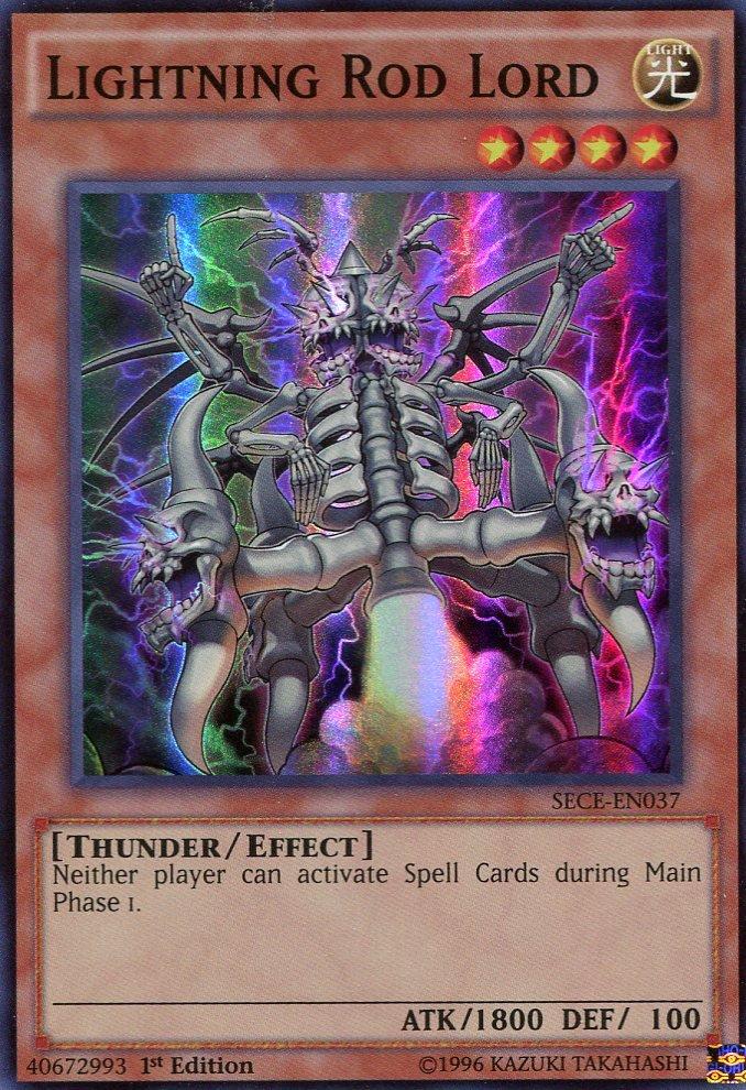 Yugioh - Secrets of Eternity - Lightning Rod Lord - SECE-EN037