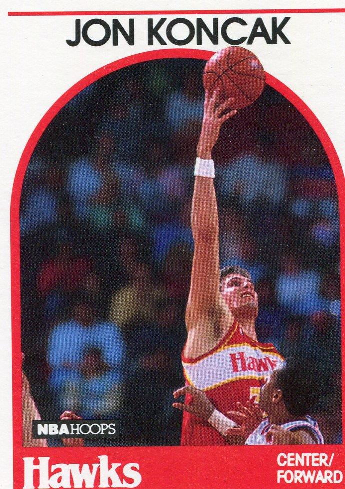 1989 Hoops Basketball Card #151 Jon Koncak