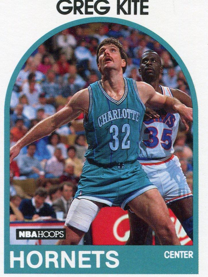 1989 Hoops Basketball Card #202 Greg Kite