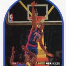 1989 Hoops Basketball Card #211 Dennis Rodman