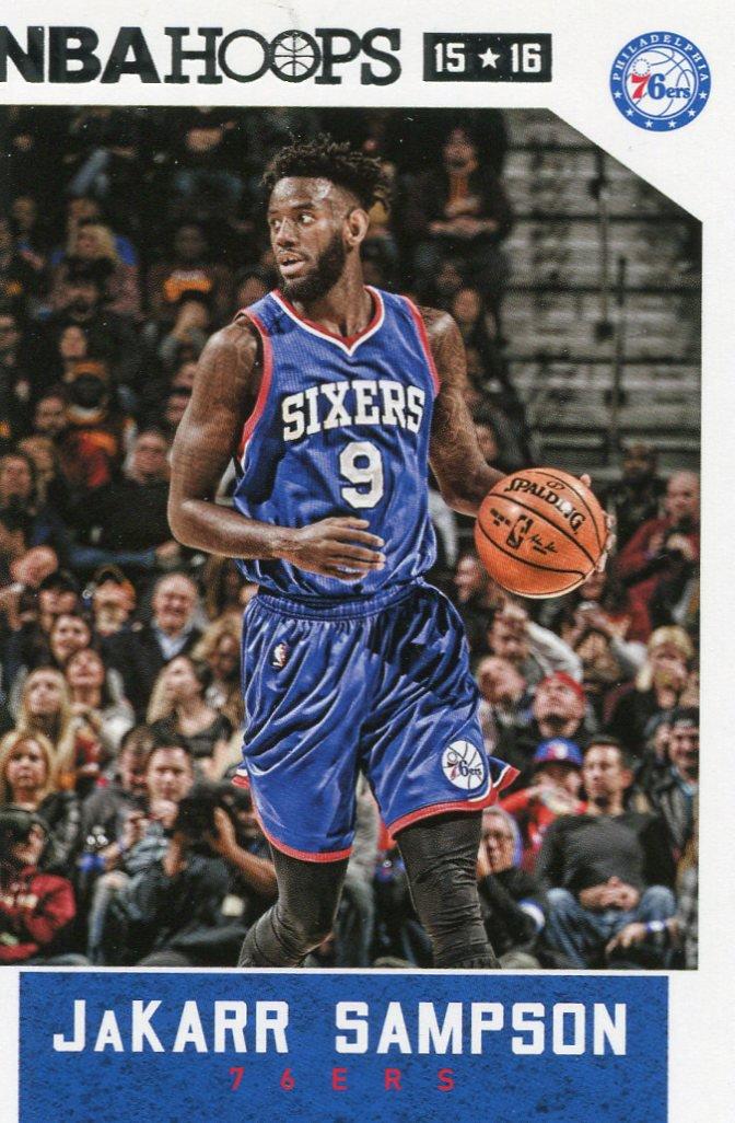 2015 Hoops Basketball Card #183 Jakarr Sampson