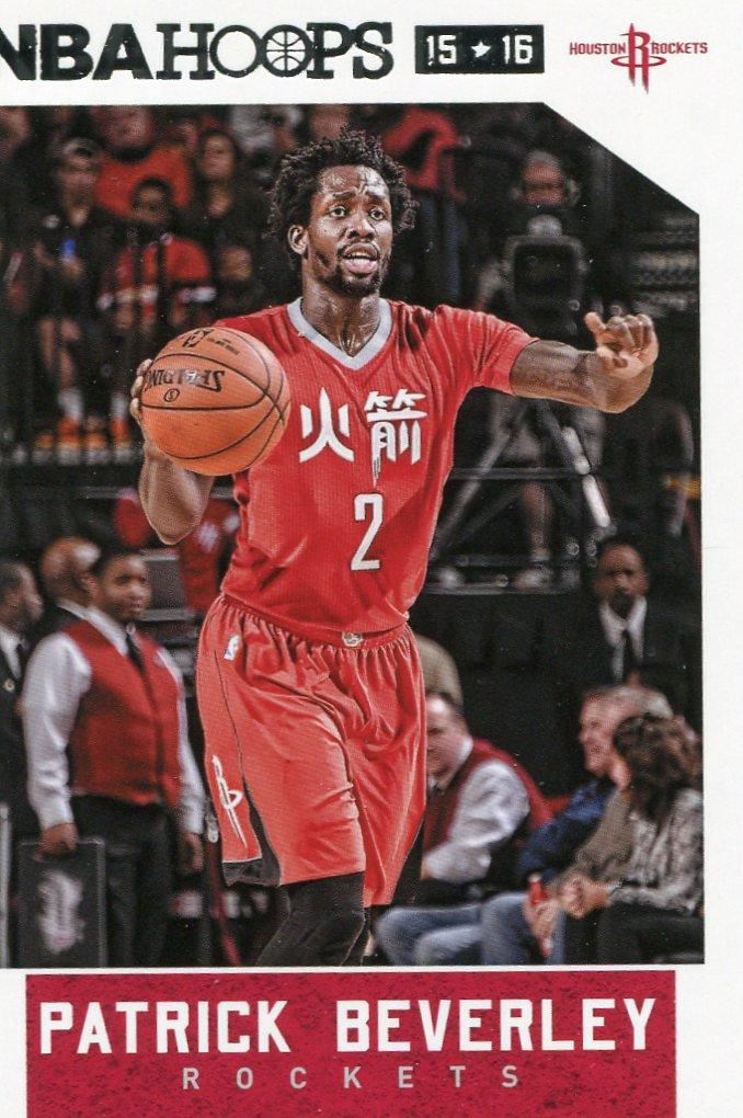 2015 Hoops Basketball Card #186 Patrick Beverley