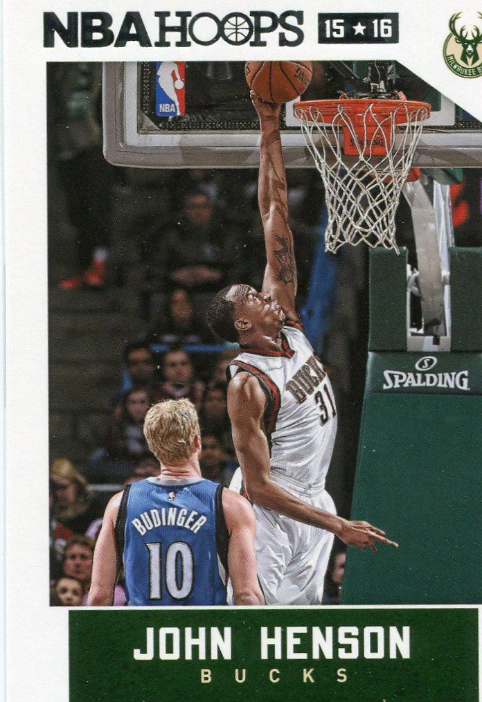 2015 Hoops Basketball Card #193 John Henson