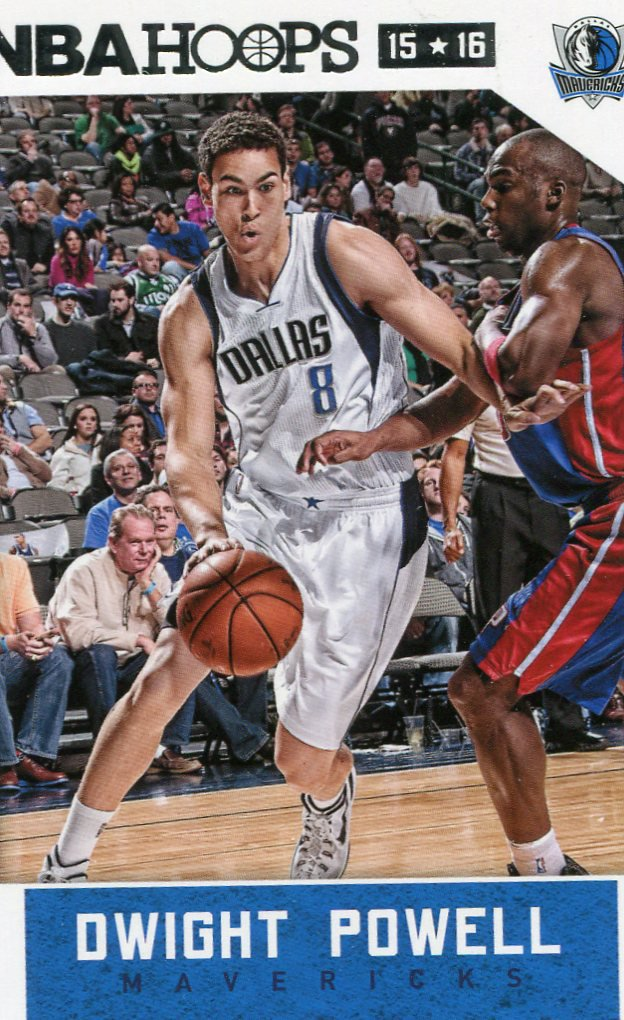 2015 Hoops Basketball Card #199 Dwight Powell