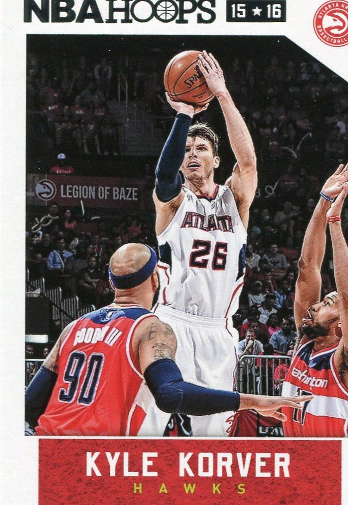 2015 Hoops Basketball Card #202 Kyle Korver