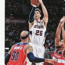 2015 Hoops Basketball Card #202 Kyle Korver