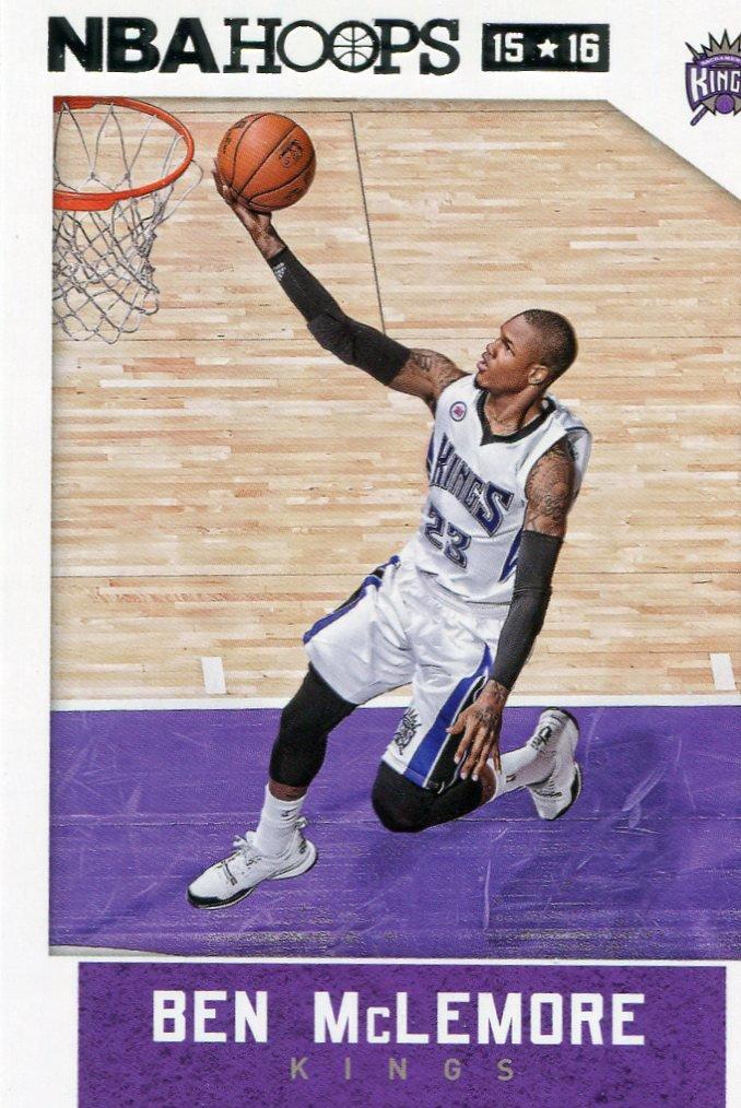 2015 Hoops Basketball Card #215 Ben McLemore