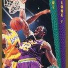 1992 Fleer Basketball Card #268 Karl Malone