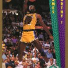 1992 Fleer Basketball Card #274 James Worthy