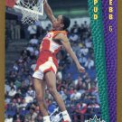 1992 Fleer Basketball Card #278 Spud Webb
