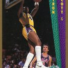 1992 Fleer Basketball Card #284 Byron Scott