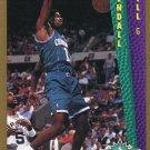 1992 Fleer Basketball Card #297 Kendall Gill