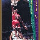 1992 Fleer Basketball Card #299 Scottie Pippen