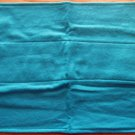Aqua Blue Flannel Burp Cloth