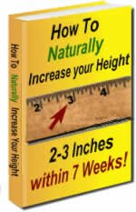 7 weeks Height Increase Stretch Manual & Bonus Tips Ebook PDF Format!