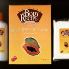HBC Natural Body Recipe Brand Papaya Skin Lightening Powder with Natural Extracts