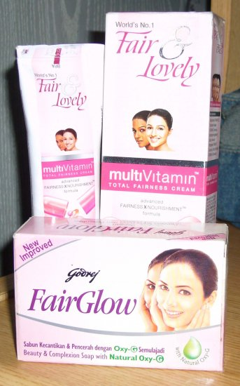 Godrej Fairglow Soap 100g + Fair & Lovely 50g (FREE SHIPPING WORLDWIDE!!!)